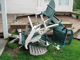 Remove Your Own Junk Broken Lawn Furniture