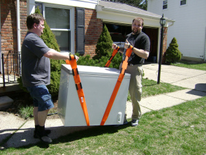 Moving Freezer for Home Furniture Removal with Pro Junk Dispatch Guys