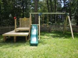 How to Take Apart a Backyard Swing Set