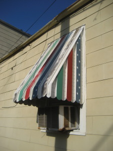 Remove Aluminum Window Awnings