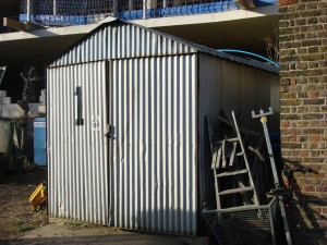 How to Dismantle an Old Metal Shed