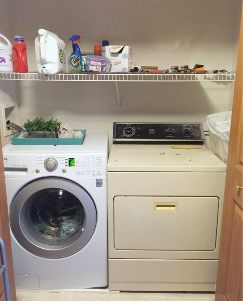 how to convert a closet into a laundry room | junk garbage removal a Laundry Room