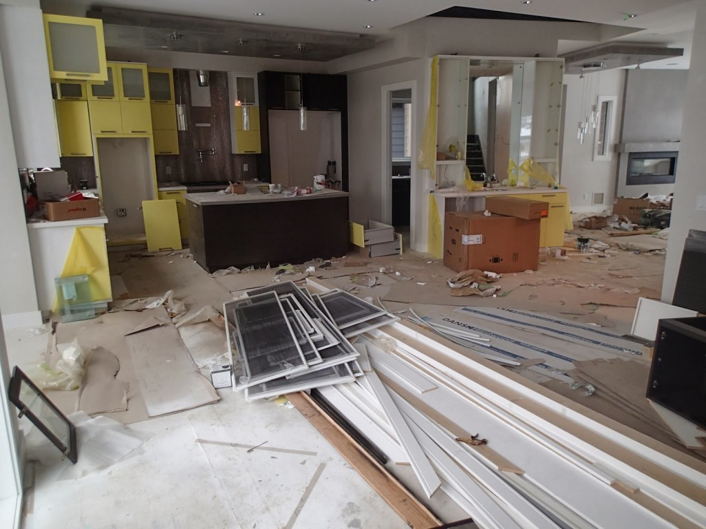 How to Deal with Remodeling Debris Material