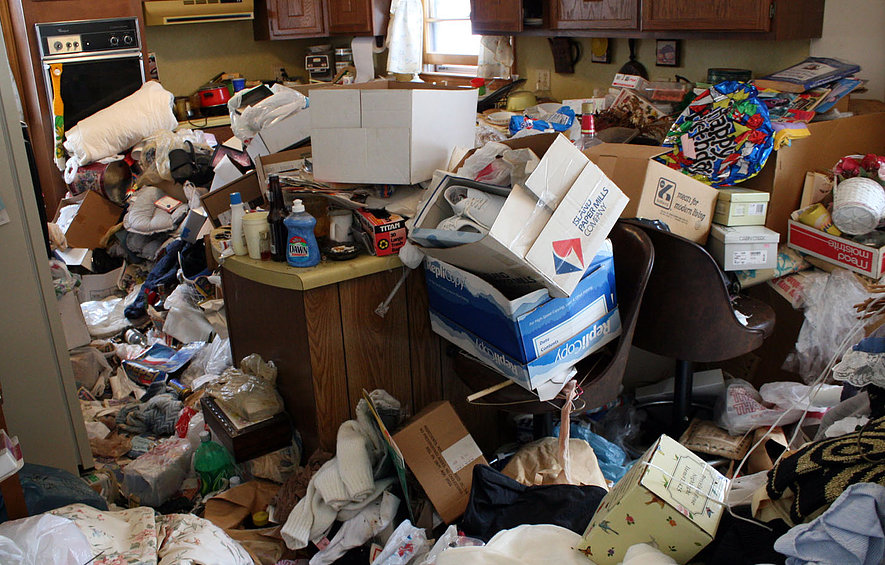 Hoarding Clean up Process