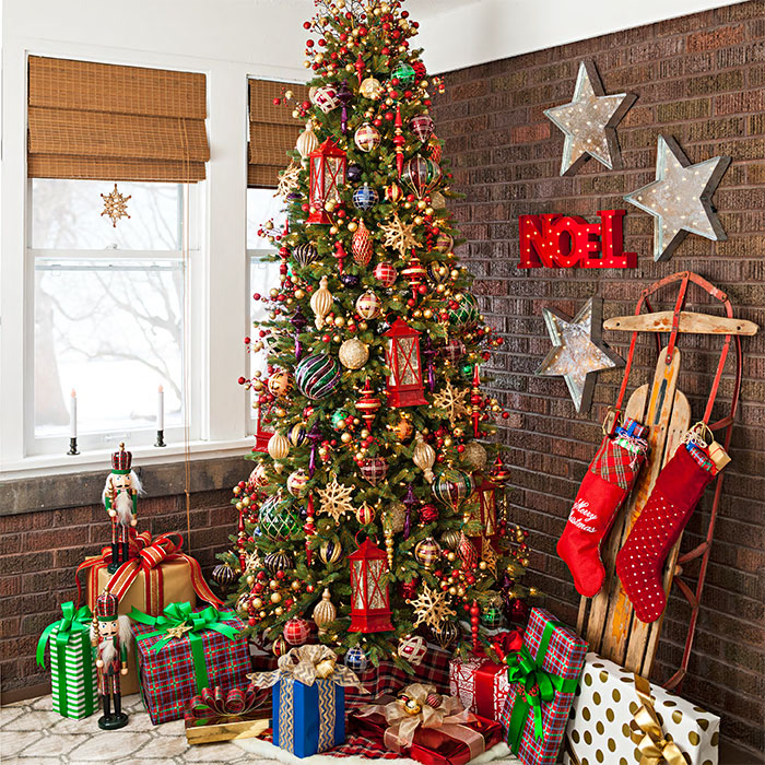 Christmas Tree Home Decorating Ideas: 5 Ways To Deal With Christmas House Clutter