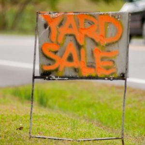 yard sale money-making tips
