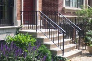 remove wrought iron railings