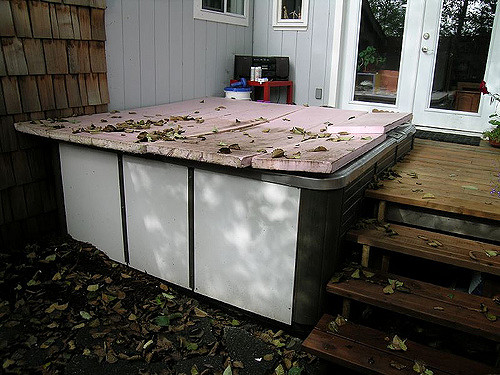 Hot Tub Junk Removal
