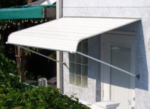 aluminum window awning removal