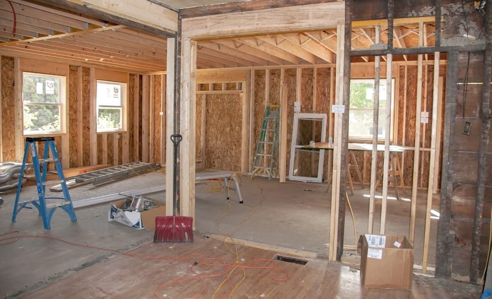 remodeling debris material