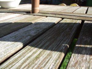 wood deck disposal