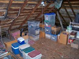 attic storage space