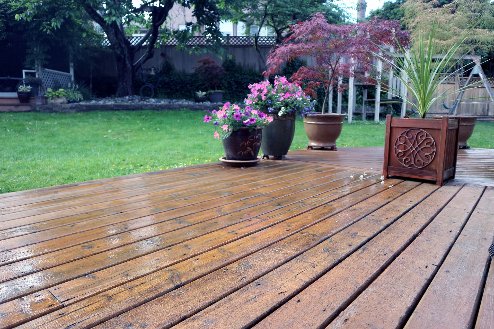 composite deck removal