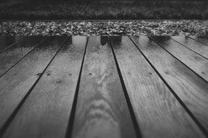 old wood deck disposal