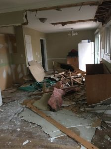 remodeling debris disposal