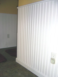 Wainscoting removal