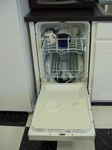 built-in dishwasher removal