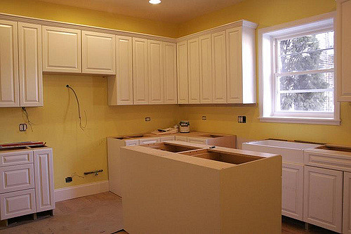kitchen cabinet refurbishing