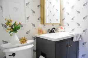 minor bathroom remodel