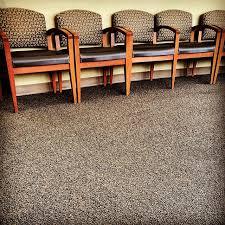 commercial glue-down carpet disposal