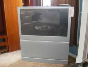 old projection television disposal