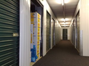storage unit lease-end cleanout