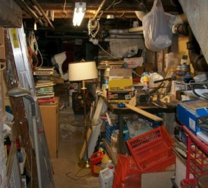basement clean out conversion