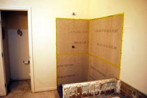 bathroom gutting