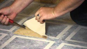vinyl floor replacement