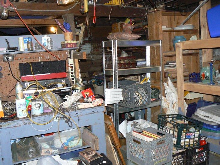 basement clean out