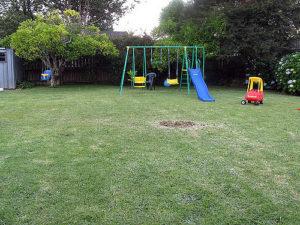 swing set take-down