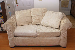 DIY loveseat disposal options