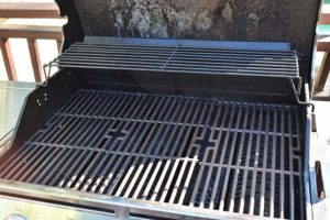 old patio grill disposal