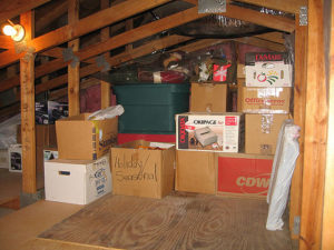 DIY attic cleanout