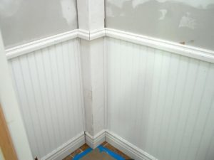 DIY wainscoting removal