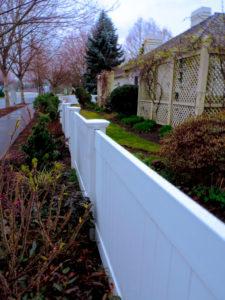 vinyl fence disposal