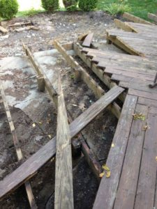 deck removal