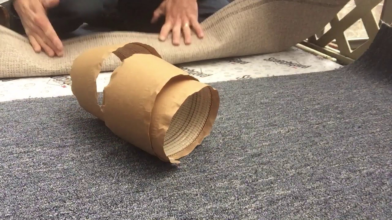 DIY indoor-outdoor carpet removal