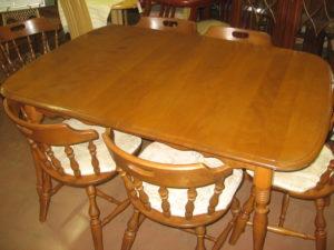 dining table set disposal