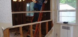 Santa Ana Partition Wall Removal and Disposal