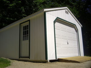 detached garage unit uses