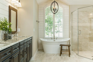 minor bathroom remodeling