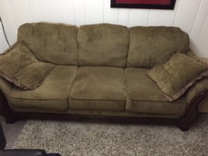 big sofa disposal