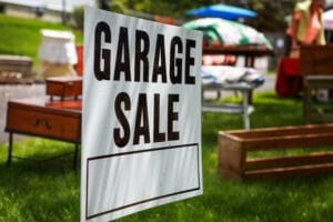 garage sale money-making hacks