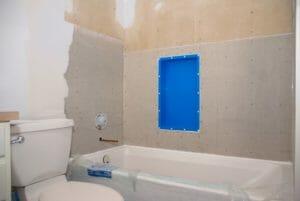 minor bath remodel