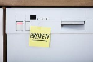 DIY dishwasher removal