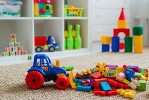 DIY playroom conversion
