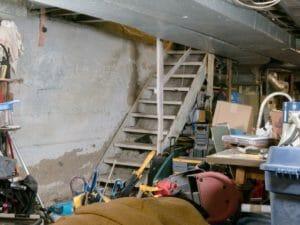 DIY basement cleanout