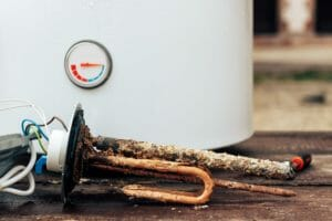 hot water heater failure signs