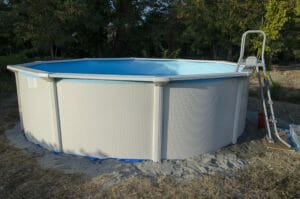 above ground pool disposal